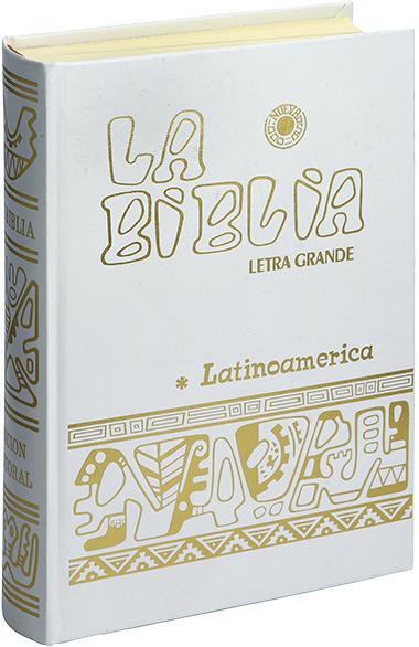 Editorial Verbo Divino La Biblia Latinoamérica Letra Grande Blanca