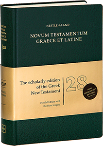Novum Testamentum Graece et Latine (Nestle-Aland [28th Revised Edition])